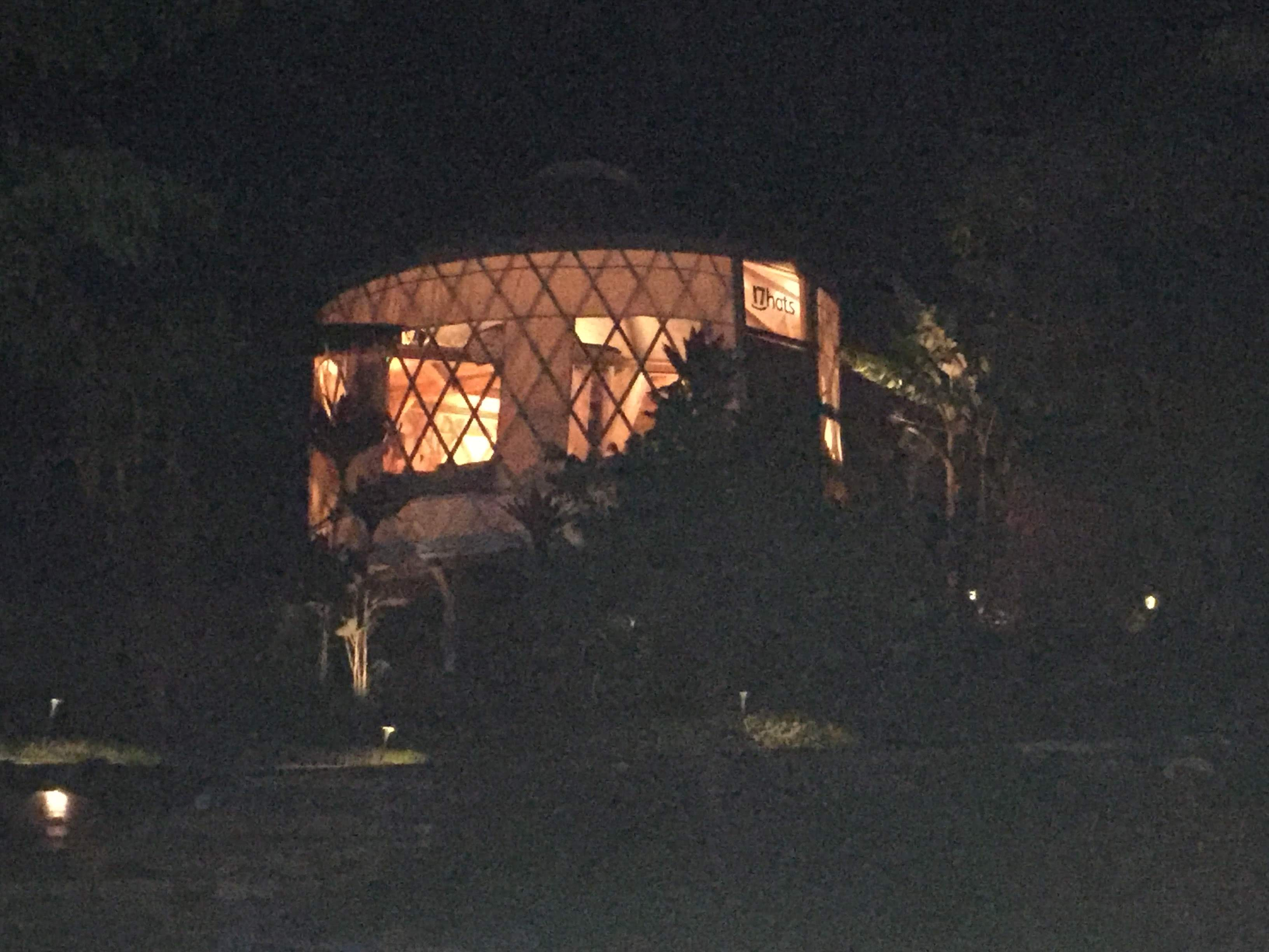 16 foot Diameter 9foot tall walls – African Safari themed Yurt