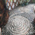 Yurt Stone Floor