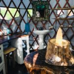 Amazing Yurt Bathroom